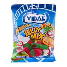 Gomas Mega Jelly Mix Vidal 100g