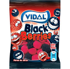 Gomas Black Berries Vidal 100g
