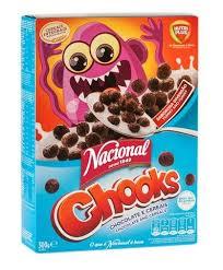 Chooks Cereais Nacional 300 g