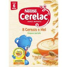 Cerelac 8 Cereais e Mel 250 g