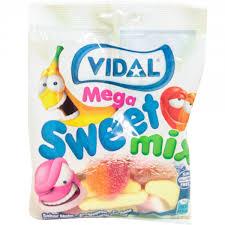 Gomas Mega Sweet Mix Vidal 100g