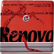 Guardanapo Renova Red  Label Vermelho 70un