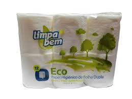 Papel Higienico Limpa Bem Eco 12Rolos