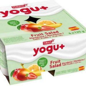Yogu+ Salada Fruta 4*125g
