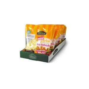 Mini Galetes Pre-Refeição Milho Bio Salutem 25g
