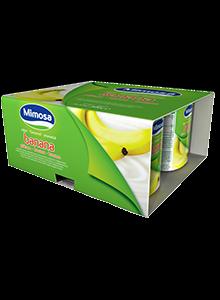Iogurte Mimosa Banana 4×125 g