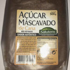 Açúcar Mascavado Cana 500g Salutem
