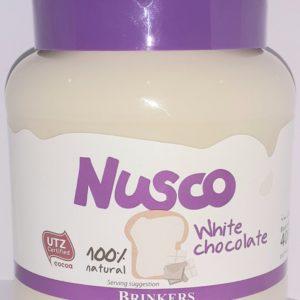 Nusco Chocolate Branco 100% Natural 400g