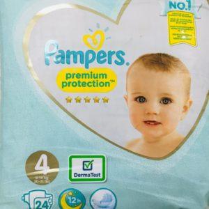 Fralda Pampers 9-14kg nº4 Maxi