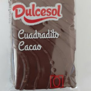 Cuadradito Chocolate Dulcesol 43g