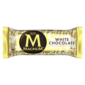 Magnum white chocolate 120ml/86g