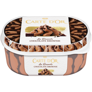 Carte D'OR Chocolate Brownie 900ml/500g