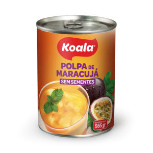 Polpa de Maracujá sem sementes Koala 565g