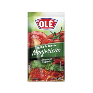 Molho de Tomate Manjericão Olé 340g