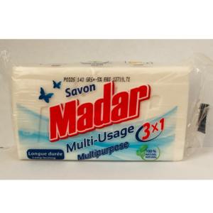 Sabão Branco Multiuso Madar 140g