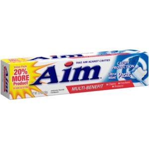 Pasta de Dente Aim Cavity Protection 156g