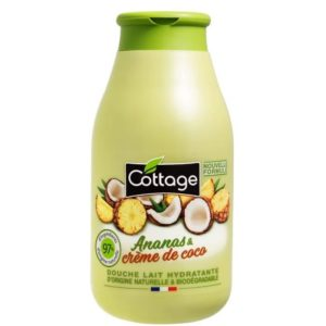 Leite de banho Hidratante Ananas & creme de coco 250ml