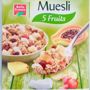 Cereal Muesli Belle France 5 Fruits 500g