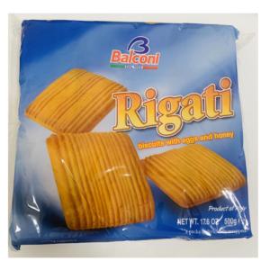Balconi Biscoitos Rigati 4un  500g