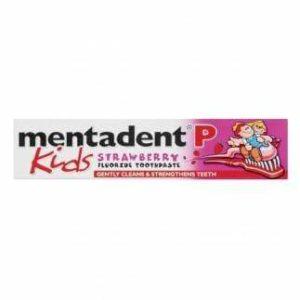 Pasta de dente Mentadent Kids Strawberry 50ml