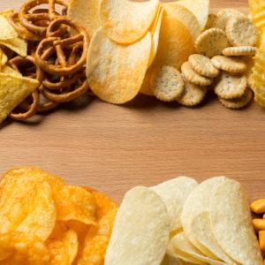 Chips, Snacks e Frutos Secos