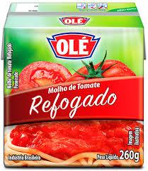 Molho de tomate refogado 260g Olé