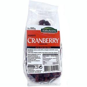 Cranberry Desidratados Salutem 100g