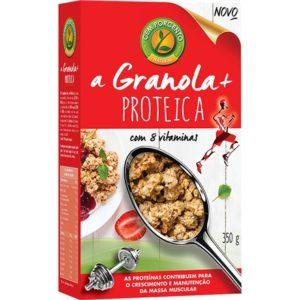 Granola + Proteica com 8 Vitaminas 350g