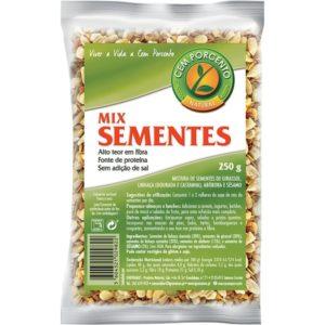 Sementes Mix Tradicional Cem Porcento 250g