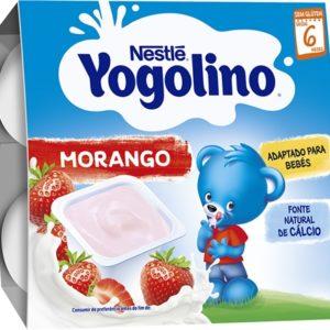 Iogurte Iogolino Nestle Morango 4*100g