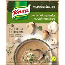 Creme Knorr de Cogumelos e Queijo Mascarpone 70g