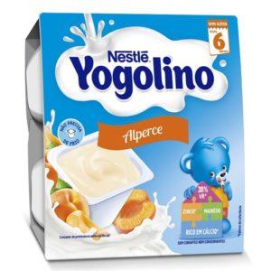 Iogurte Iogolino Nestle Alperce 4*100g