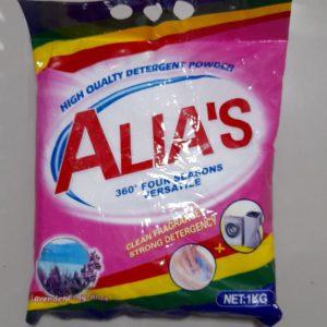Detergente em pó Alias 1kg