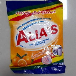 Detergente em pó Alias 100gr