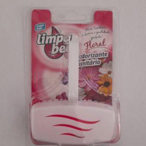 Desodorante Sanitário Limpa Bem Floral 40gr
