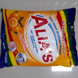 Detergente em pó Alias 500gr