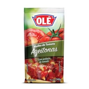 Molho Olé de Tomate e Azeitonas 340gr