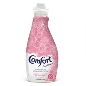 Amaciador Confort Flor e Baunilha 1,5L – 50 Lavagem