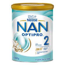 Leite NAN 2 Nestlé 800gr 6meses+