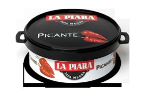 Patê La Piara Tapas Negras Picante 73gr