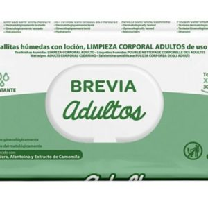 Toalhitas Brevia Adulto 60pc