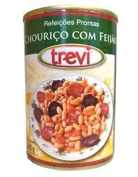 Chouriço com Feijão Trevi 420g