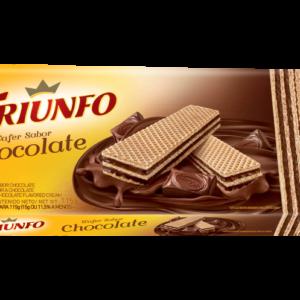 Bolacha Triunfo sabor Chocolate 115gr