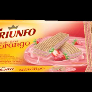 Bolacha Triunfo sabor Morango 115gr