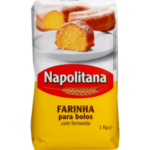 Farinha para Bolos Napolitana c/ Fermento 1kg