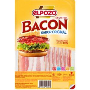 Bacon ElPozo sem lactose em fatias 150gr
