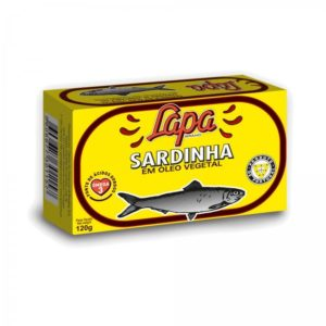 Sardinhas Lapa  em Óleo Vegetal 120gr