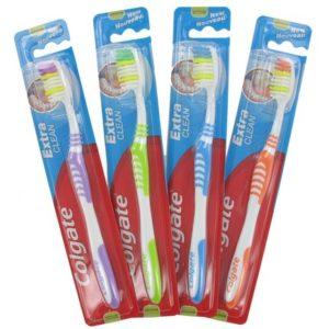 Escova dente Colgate Extra Clean