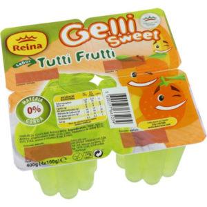 Gelatina Gelli Tutti-Frutti 4*100g