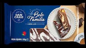 Bolo Família cacau/baunilha Dan Cake 350g